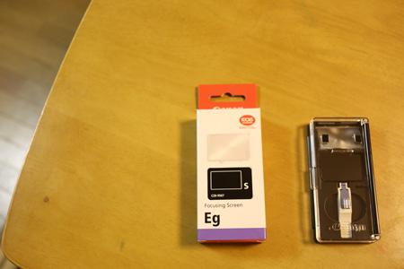 Canon フォーカシングスクリーン Eg-S